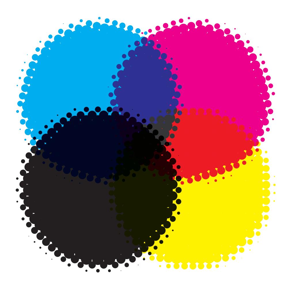 CMYK-Farbmischung (aus Wikipedia)