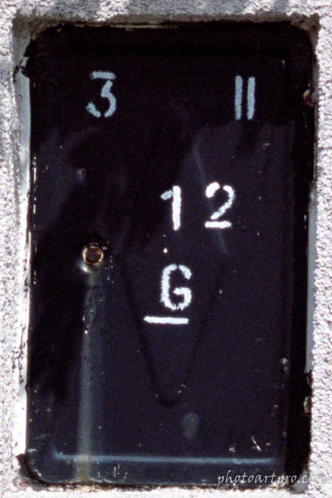 Rauchfangkehrertürchen Detail mit Canon EOS 10 (analog!)