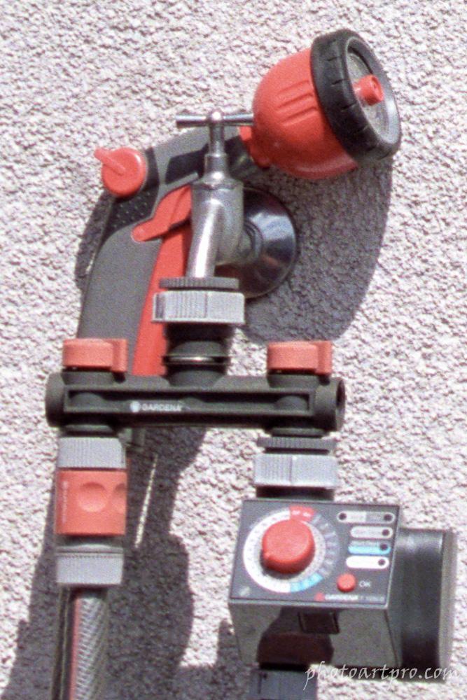 Wasseranschluss Detail mit Canon EOS 10 (analog!)