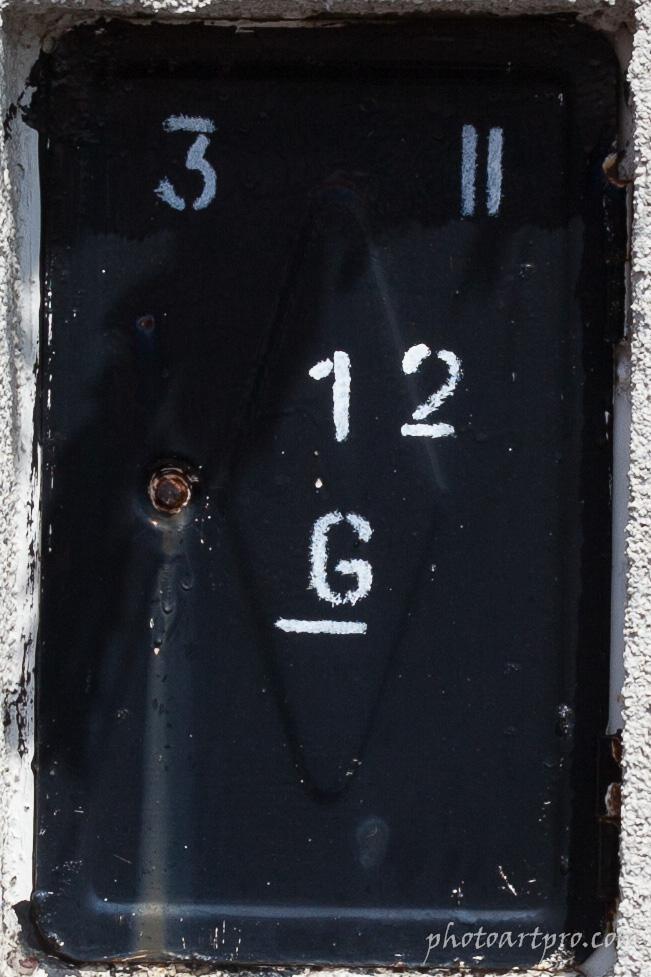Rauchfangkehrertürchen Detail mit Canon EOS 5D MkII