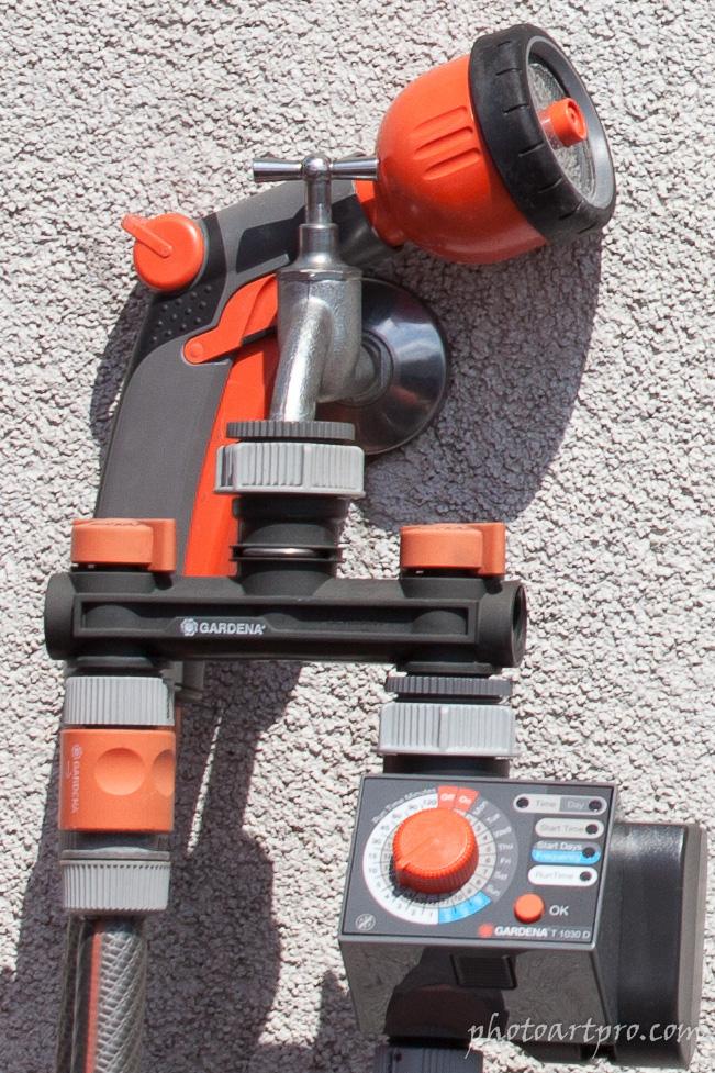 Wasseranschluss Detail mit Canon EOS 5D MkII