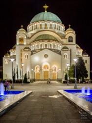 Fotografie Church of Saint Sava Belgrad