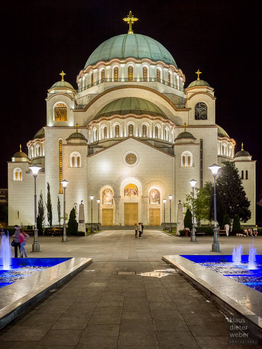 Fotografie Church of Saint Sava Belgrad
