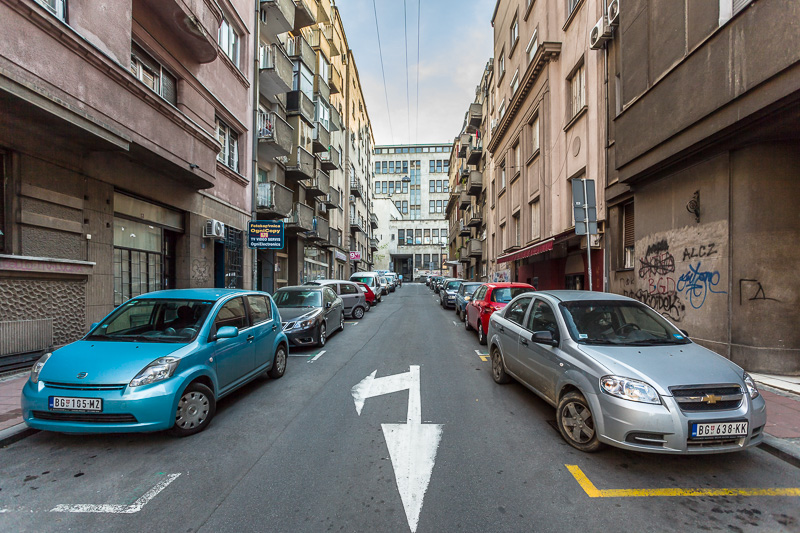 Fotografie aus Bildband Belgrad