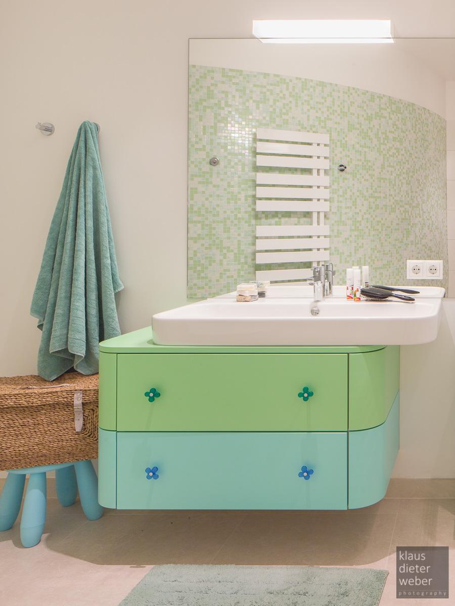 Aufnahme Badezimmer mit Shift-Objektiv